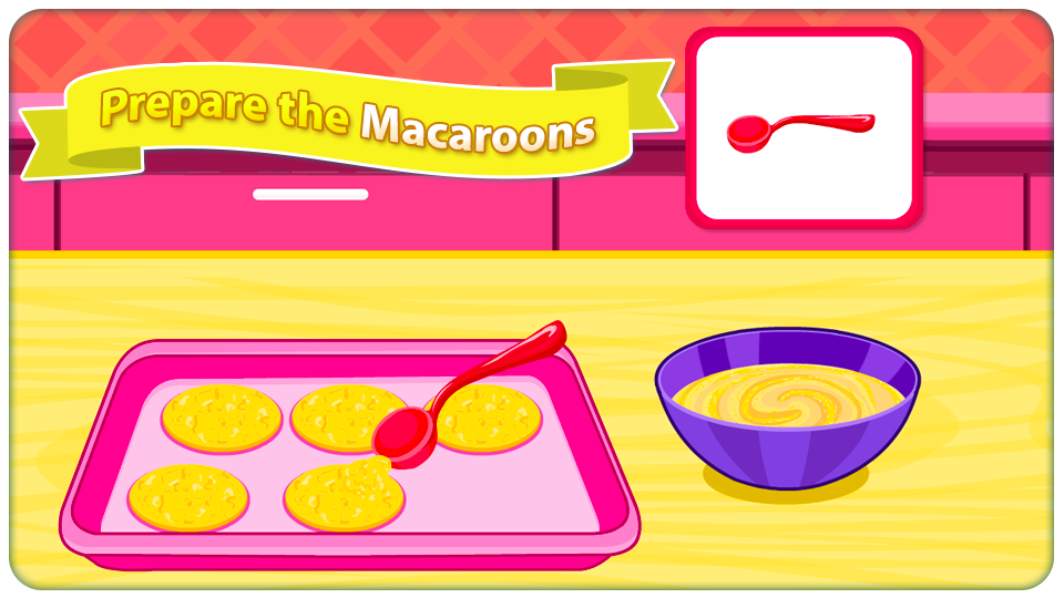 Cooking Tasty Creamy Macaroons- screenshot