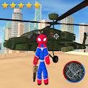 Super Spider StickMan Rope Hero Gangstar Crime icon
