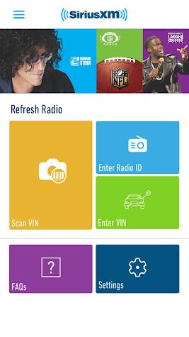 SiriusXM Dealer Screenshot