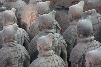 Photo: Day 188 -  Terracotta Warriors in Xi'an  Pit 1 #11