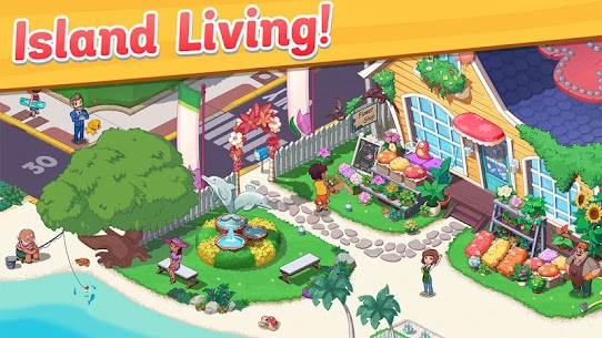 Ohana Island MOD APK 1.5.2 [Menu Mod] Blast flowers and build 4