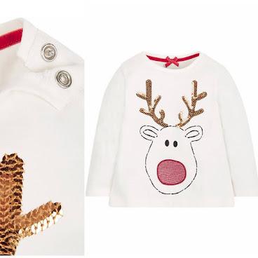 Mothercare 聖誕鹿上衣