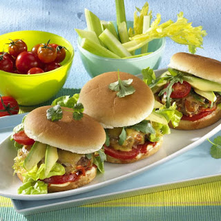 Healthy Turkey Burgers.
