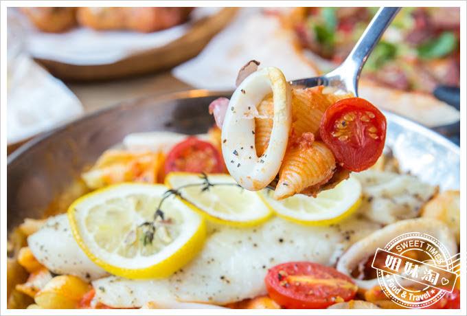 堤諾披薩菜單阿馬菲破壞式鮮魚烤麵