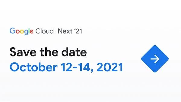 Anuncio de inscripción de Next '21