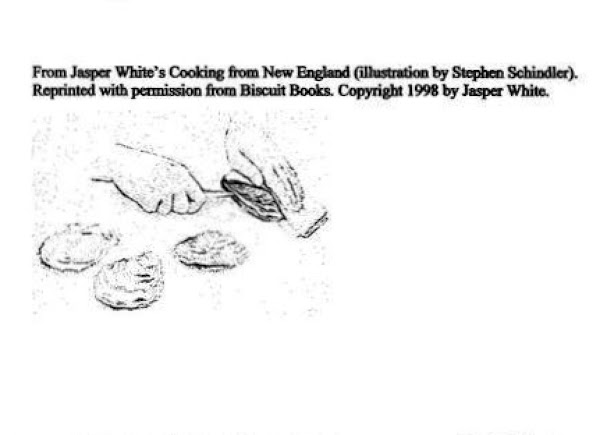 Hold the oyster, flat side up, in a cloth or towel, pressed firmly against...