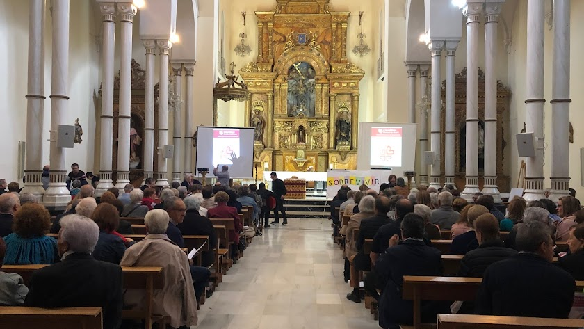 La capilla de la Compañía de María durante el Encuentro Anual.