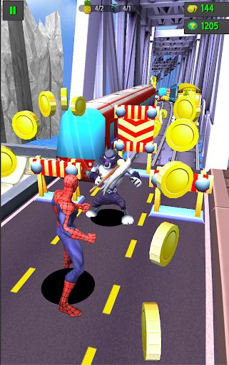 Subway Spider-Run Adventure World 2.2 screenshots 4