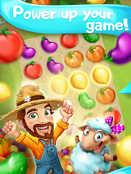 Funny Farm match 3 Puzzle game! APK screenshot thumbnail 9