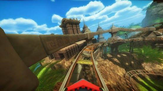 Roller Coaster VR attraction- screenshot thumbnail