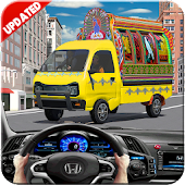 Modern Bus Coach Taxi Game 3D