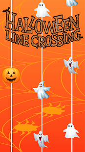 Halloween line crossing - náhled