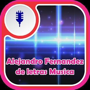 Alejandro Fernandez de Letras Musica - náhled