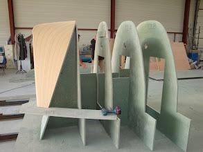 Photo: Construction moule de coque - 18.10.2008