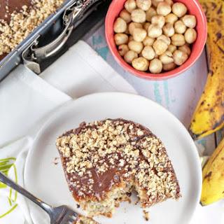 Banana Nutella Cake.