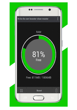 Download 16 Go Ram booster Clean Master 2018 APK latest