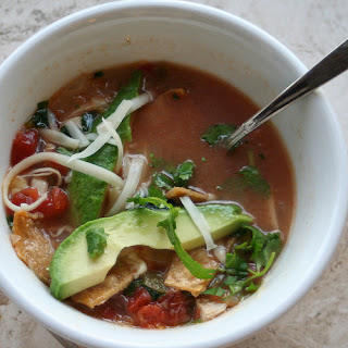 Chicken Tortilla Soup (printable recipe)