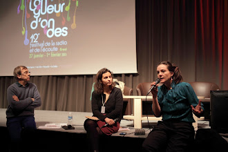 Photo: La radio en milieu carcéral avec Nicolas Frize et Elisa Portier