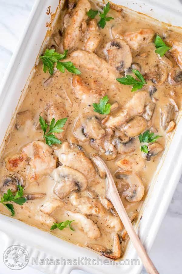 Chicken And Mushroom Casserole Recipe