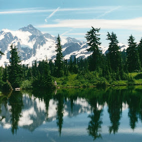reflections by Mary Stewart - Landscapes Mountains & Hills