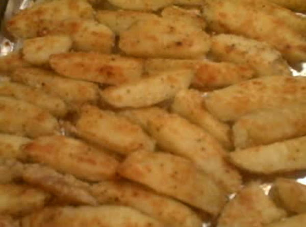 Flaky Wedge Fries Recipe