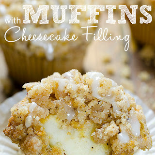Carrot Cake Muffins with Cheesecake Filling