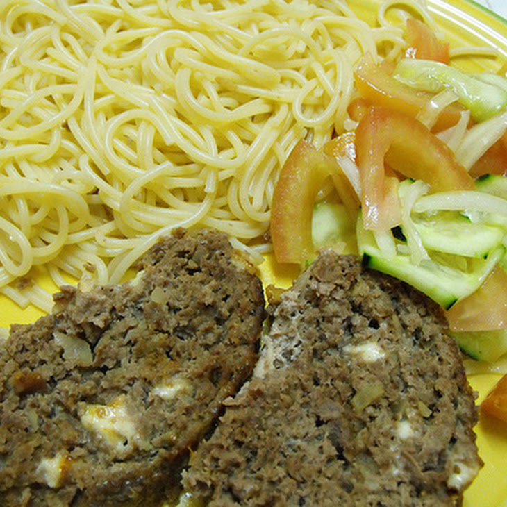 Meatloaf Cheese Roll Recipe