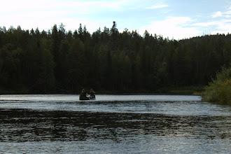 Photo: Paddling the Oulanka River