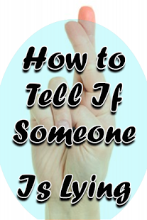 How To Know If Someone Is Lying and Signs Of Lying - náhled