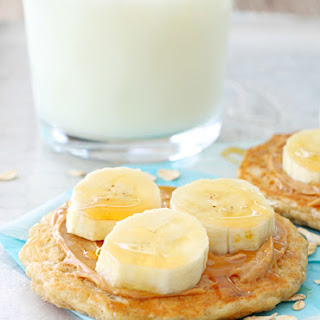 Oatmeal Pancakes for the Freezer