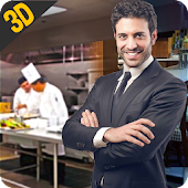 MY restaurant Manager: Virtual manager games 3D