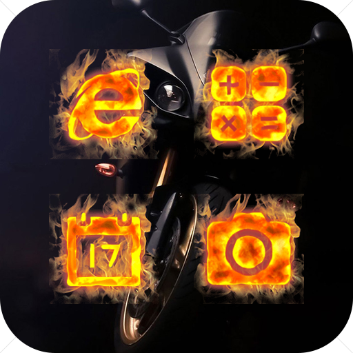 Enthusiastic Burning Flame Icon Pack