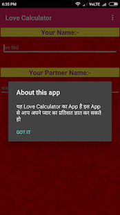 Love Calcyulator - náhled