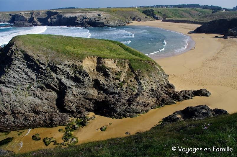 plage donnant belle ile