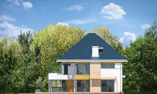Dom z widokiem 2 C - Elewacja prawa