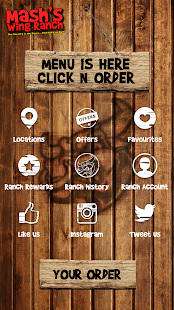 Mash's Wings App screenshot