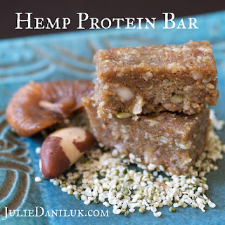 Post Workout Hemp Protein Bar