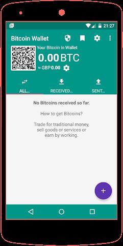 android Bitcoin Wallet Screenshot 0