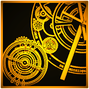 Hypno Clock Live Wallpaper
