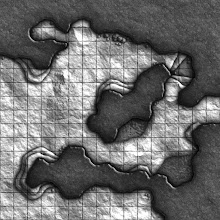 Photo: Here's the second of the 'cave-corner' geomorphs:
