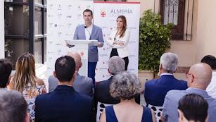 Un acto de promoción de la candidatura Almería 2019
