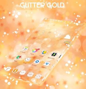 Glitter Gold Launcher - náhled
