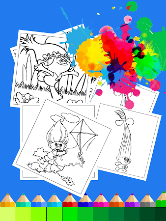 Coloring Book for troll lover 2.2 screenshot 622605