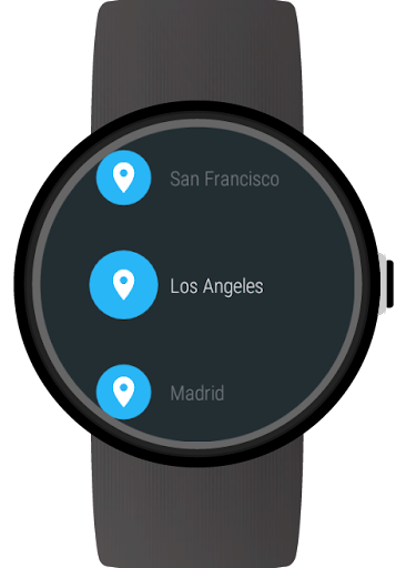 Weather for Wear OS (Android Wear)  screenshots 5