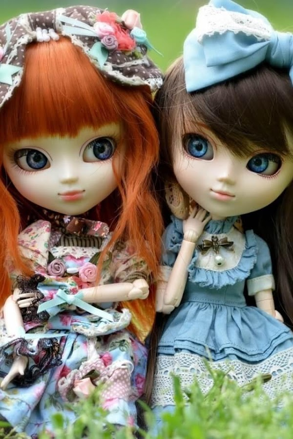 cute dolls live wallpaper android apps on google play