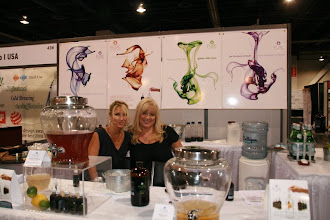 Photo: Our other nice show neighbors, owners Lori Mulligan Lynne Gerhards (left to right) of Pure Inventions.