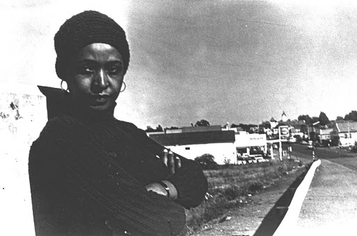 Winnie Mandela circa 1977 in Brandfort, the Free State town she was banished to by the apartheid regime.