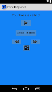VOICE Ringtones- screenshot thumbnail