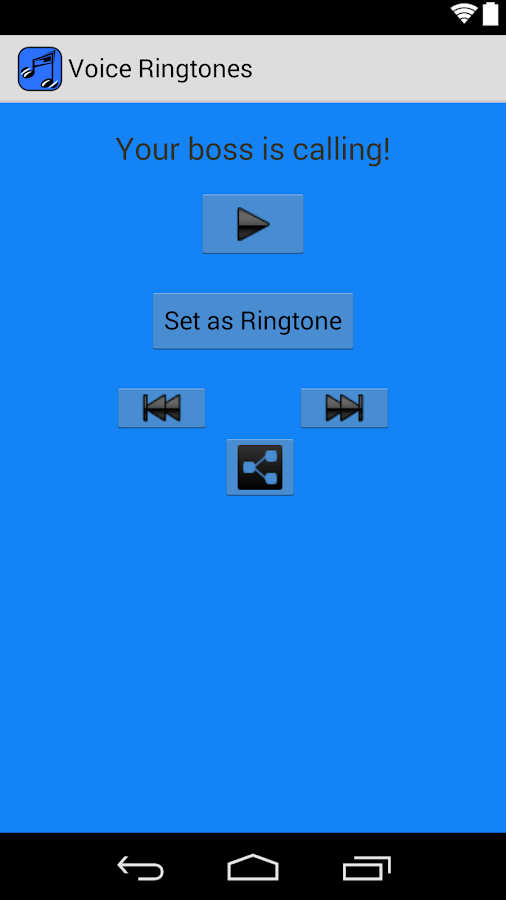 VOICE Ringtones- screenshot