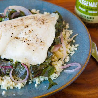 Flounder Packets with Swiss Chard & Fennel